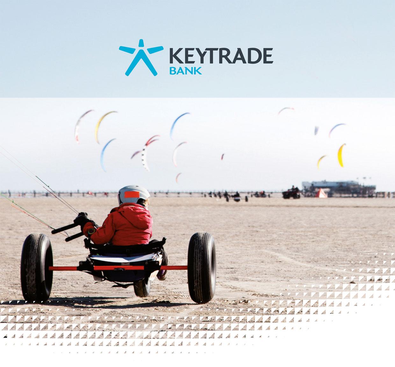 image coprorate de Keytrade Bank