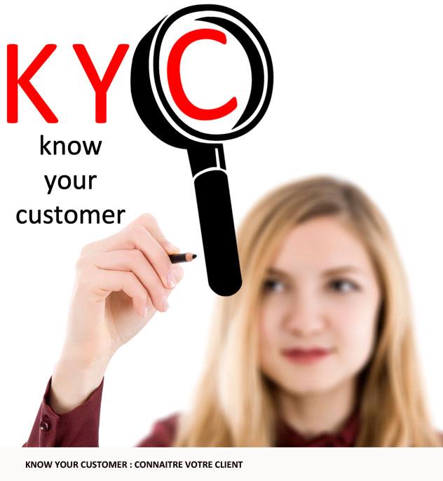 blochain au service de la connaissance client