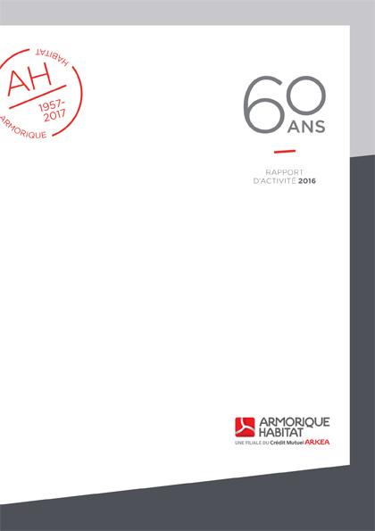 Rapport d'activité 2017 d'Armorique Habitat
