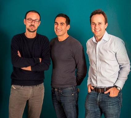 L'équipe des fondateurs de Younited