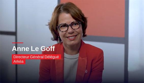 Anne Le Goff , Directeur général délégué d'Arkéa