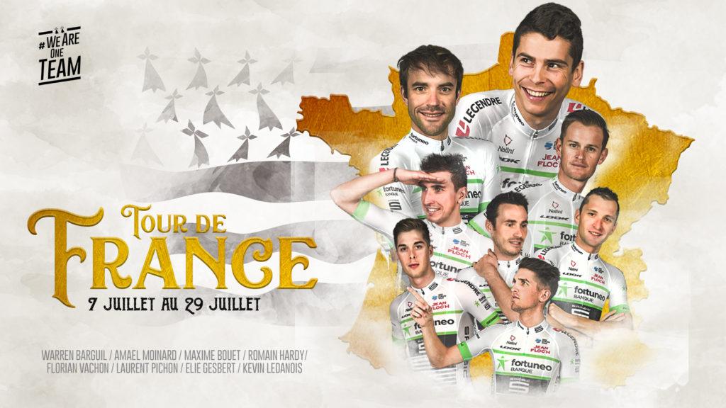 Fortuneo-samsic Tour de France 2018