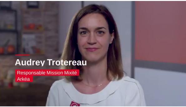 Audrey Trotereau , Responsable Mixité Arkéa