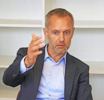 Ronan Le Moal , Directeur général du groupe Arkéa