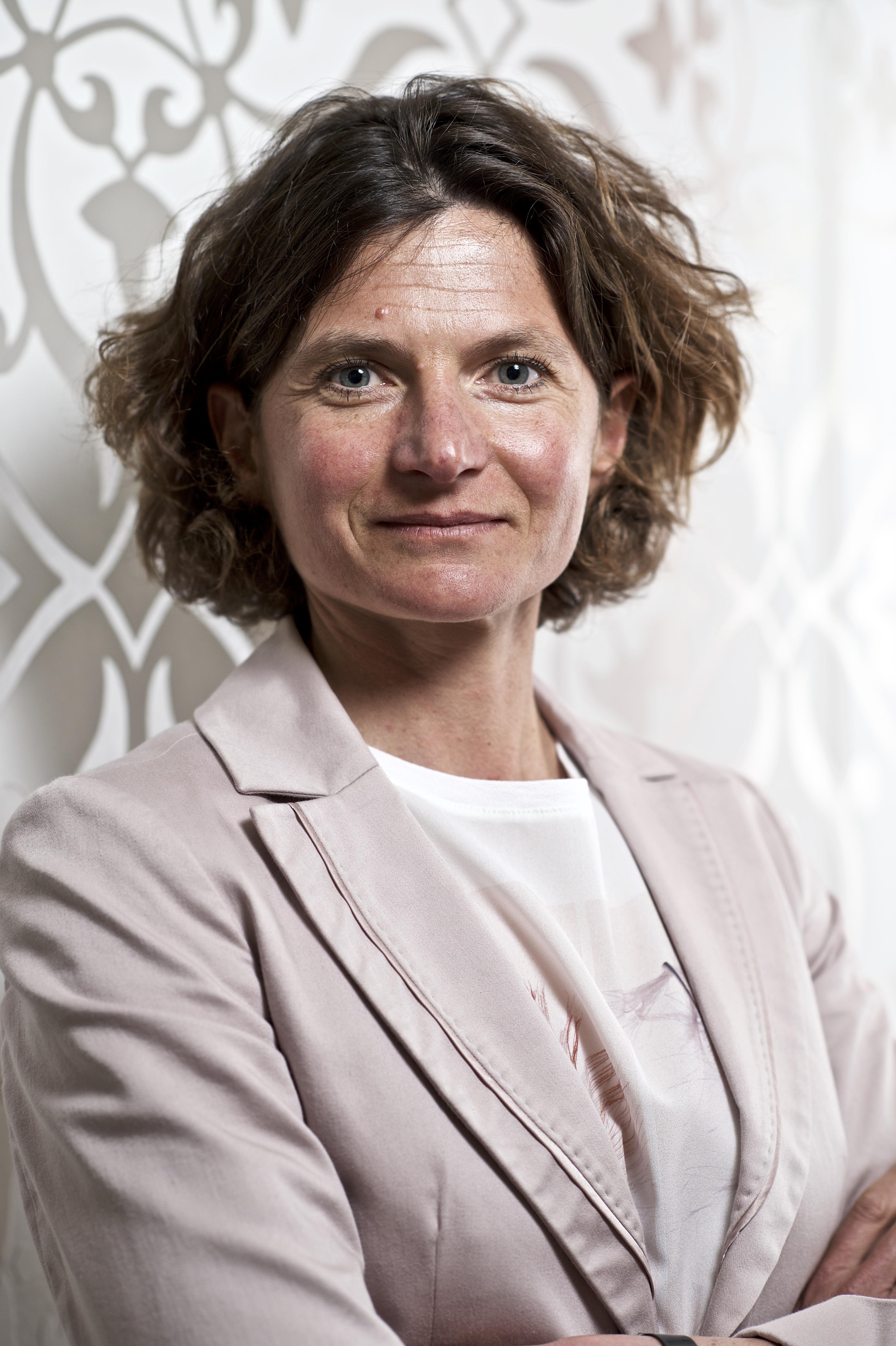 Hélène Bernicot Directrice générale du groupe Arkéa
