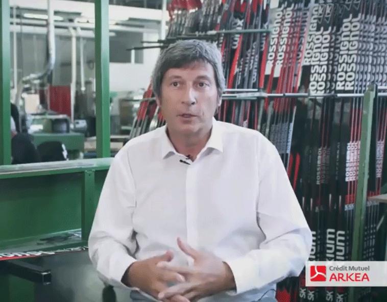 Bruno Cercley, Président de Rossignol