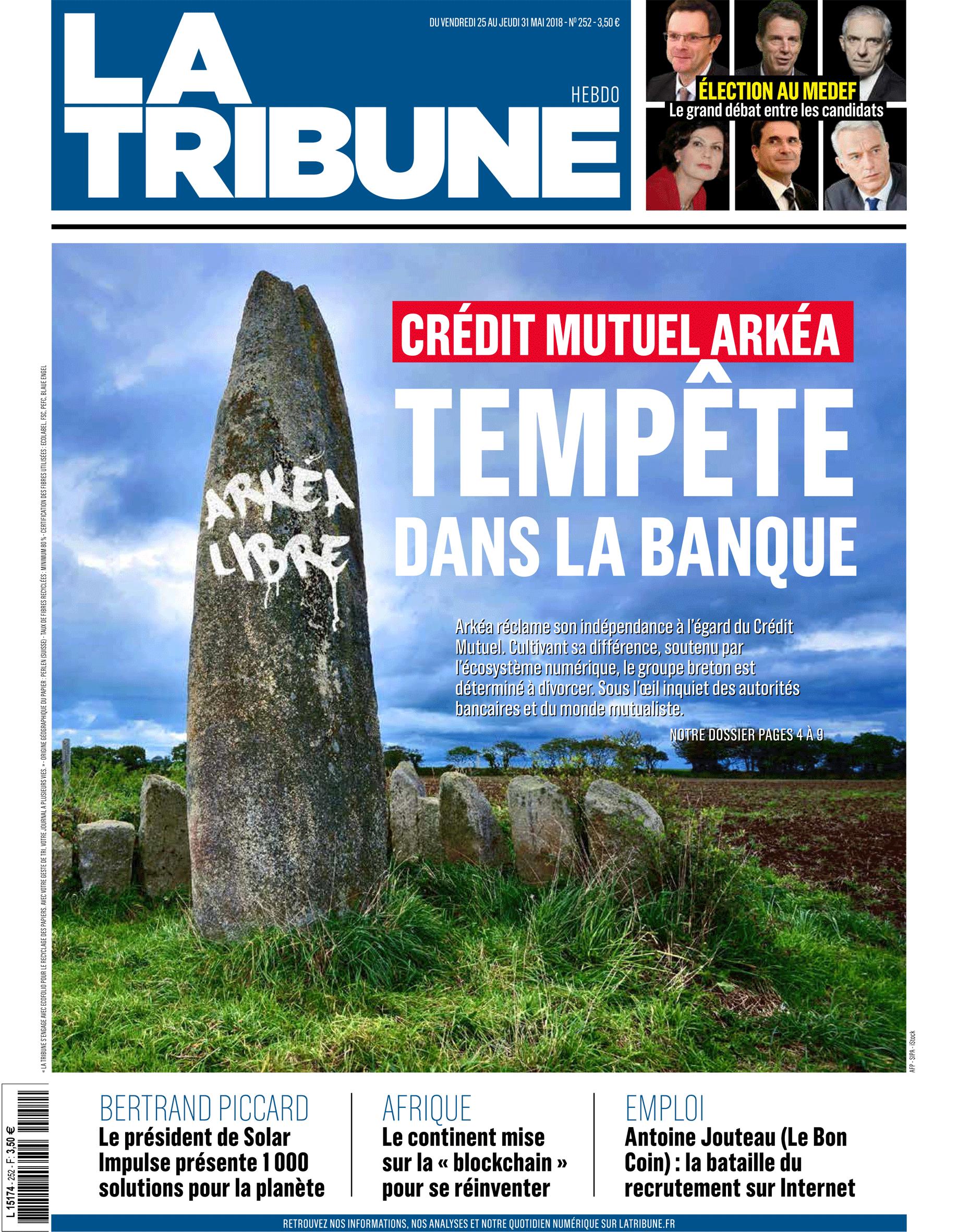 Une La Tribune