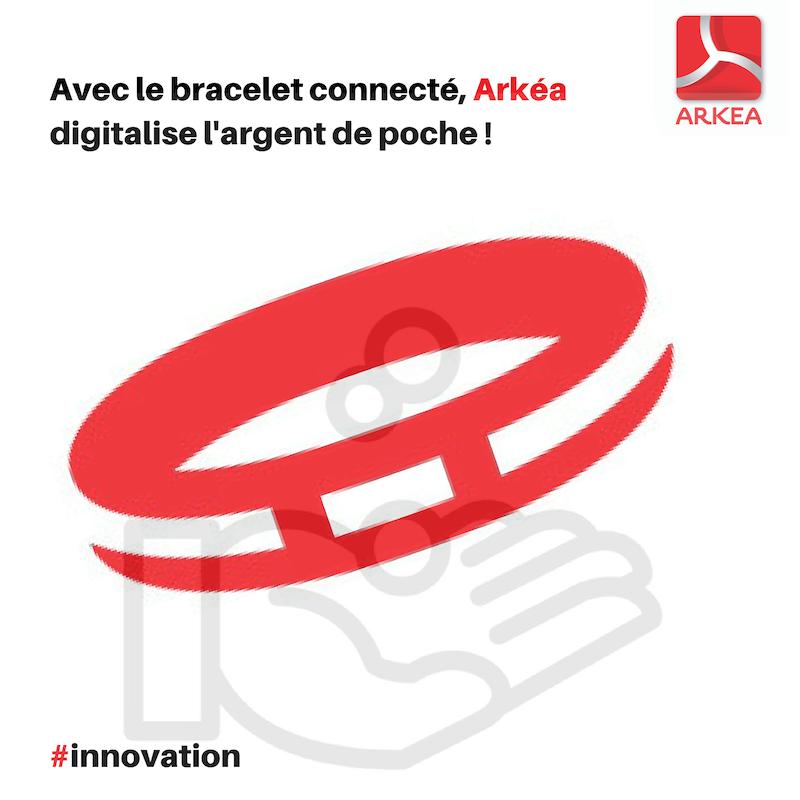 Bracelet connecté Arkéa