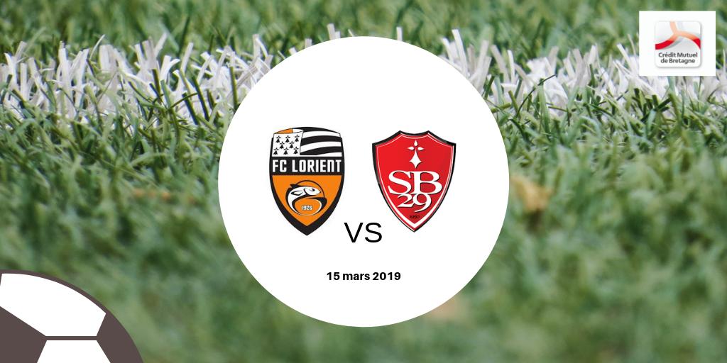 Jeu-concours : Gagnez vos places pour le derby Lorient-Brest