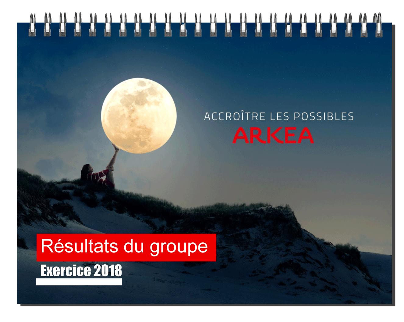 Booklet des résultats 2018 du groupe Arkéa