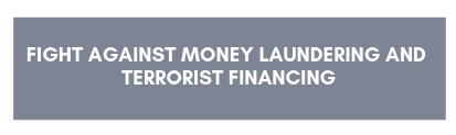 Lutte contre le blanchiment et le financement du terrorisme
