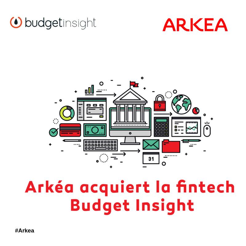 Arkéa annonce l'acquisition de Budget Insight