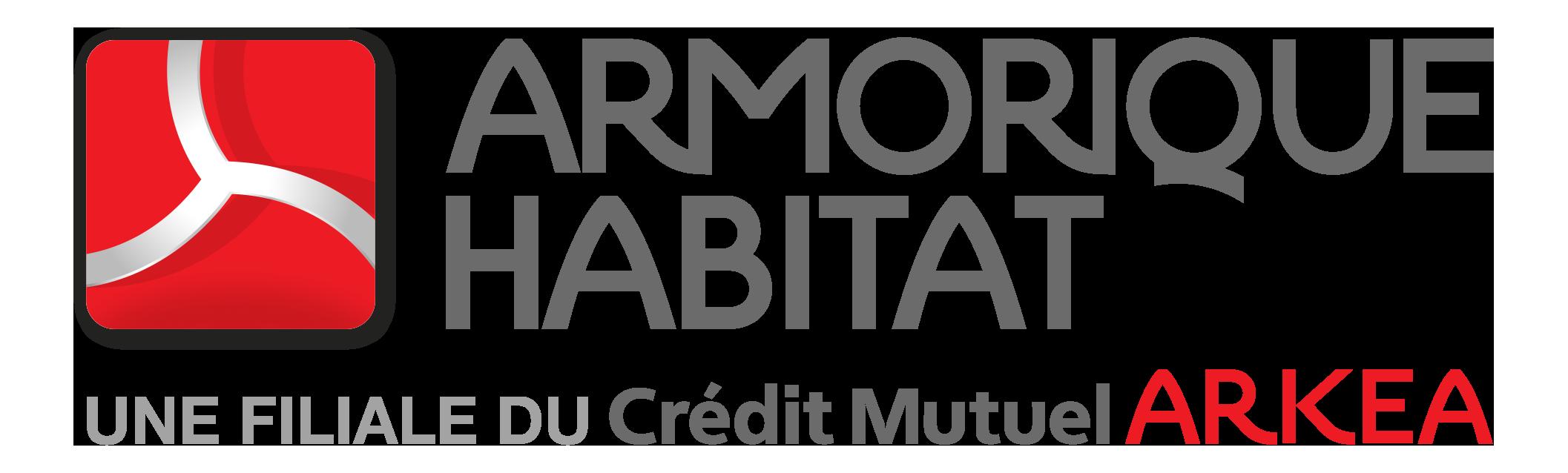 Logo Armorique Habitat 2019