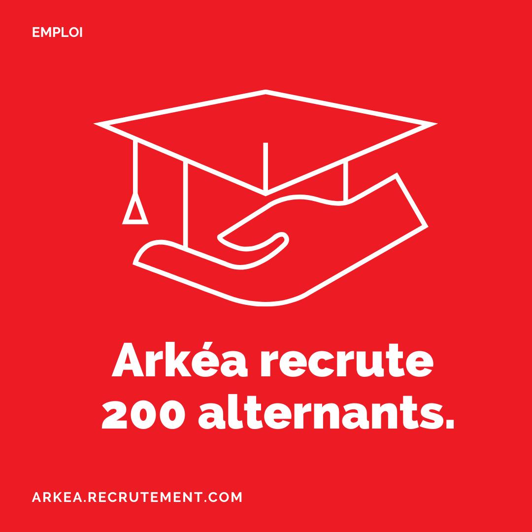 Arkéa recrute 200 alternants