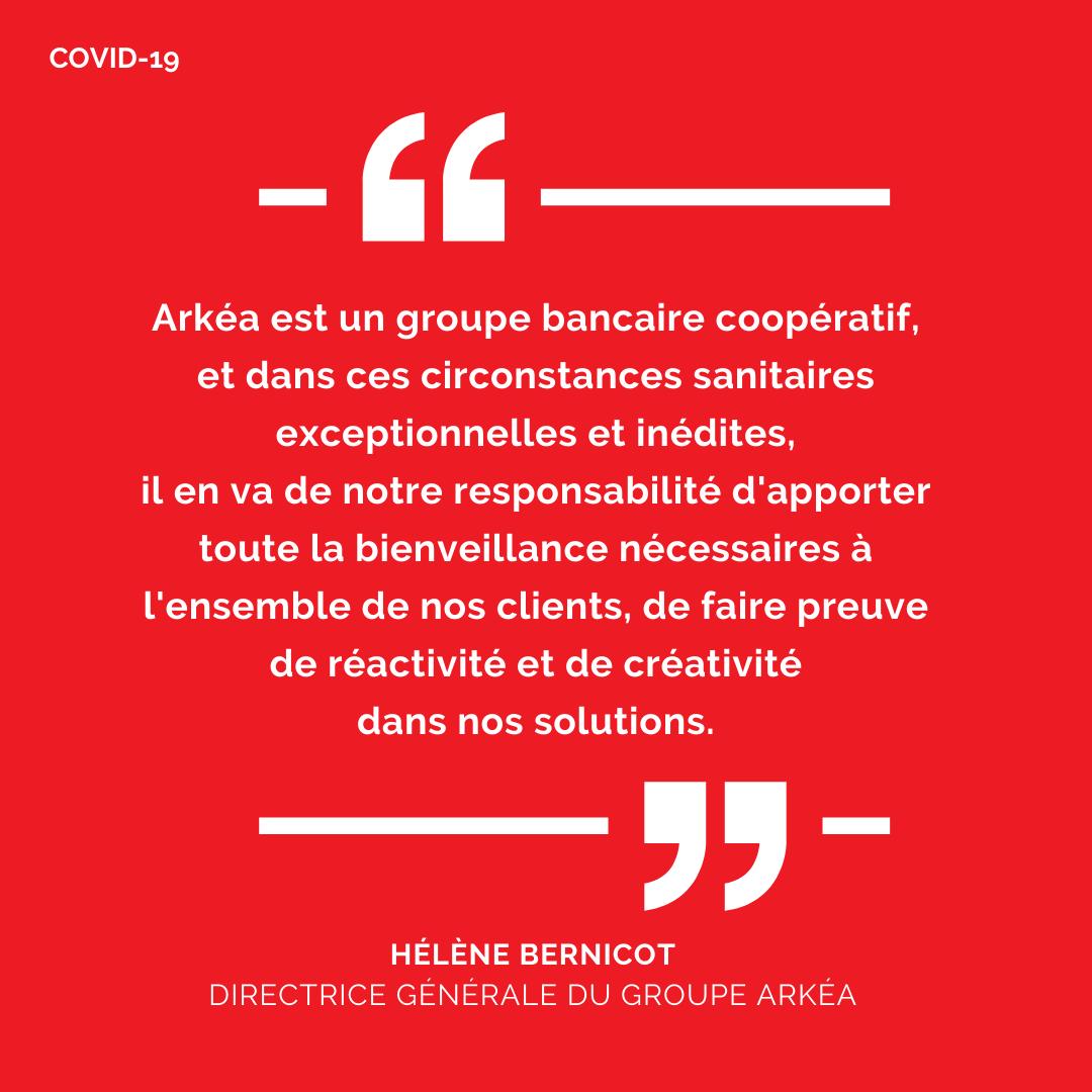 Verbatim d'Hélène Bernicot sur la crise sanitaire