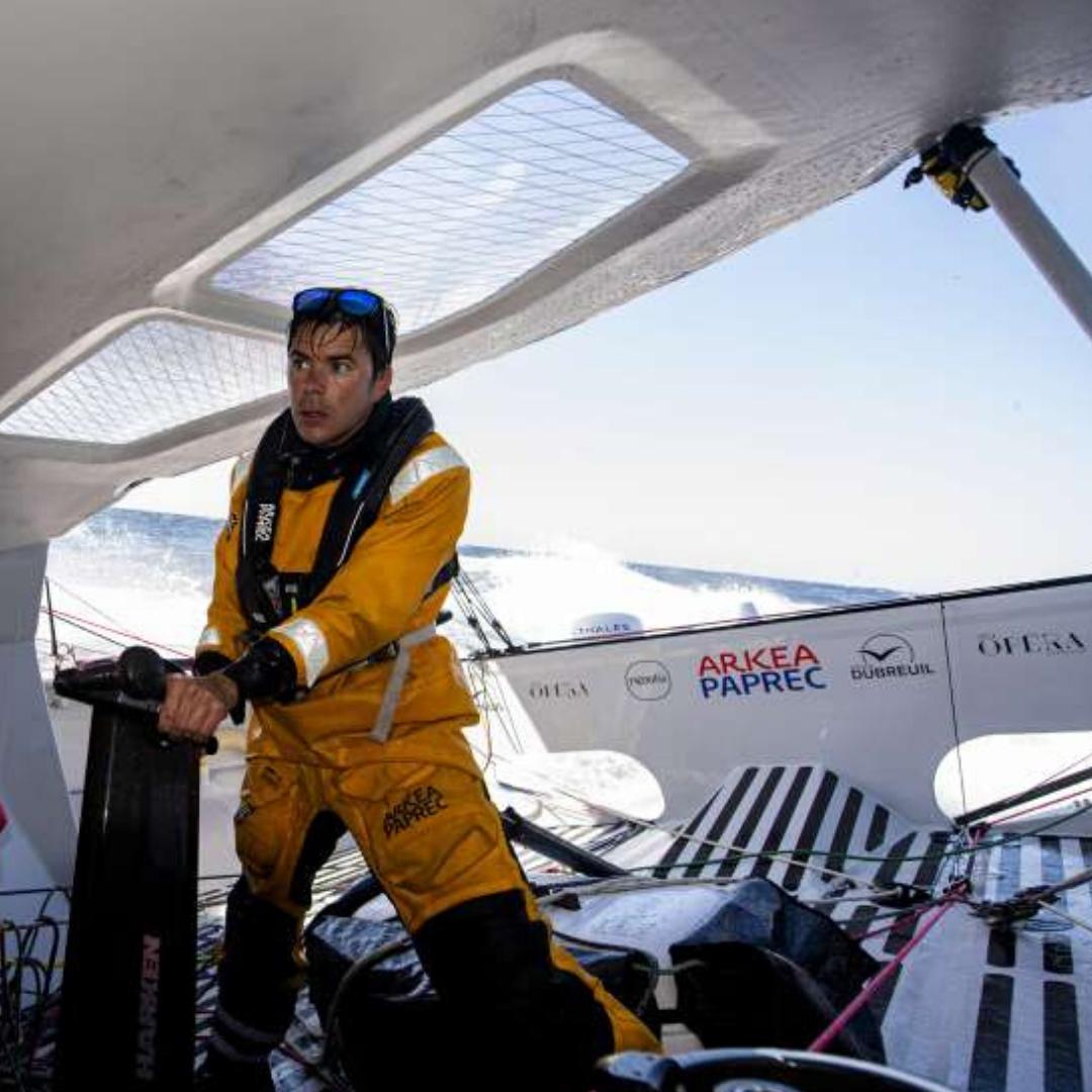 Sébastien Simon, skiper Arkéa