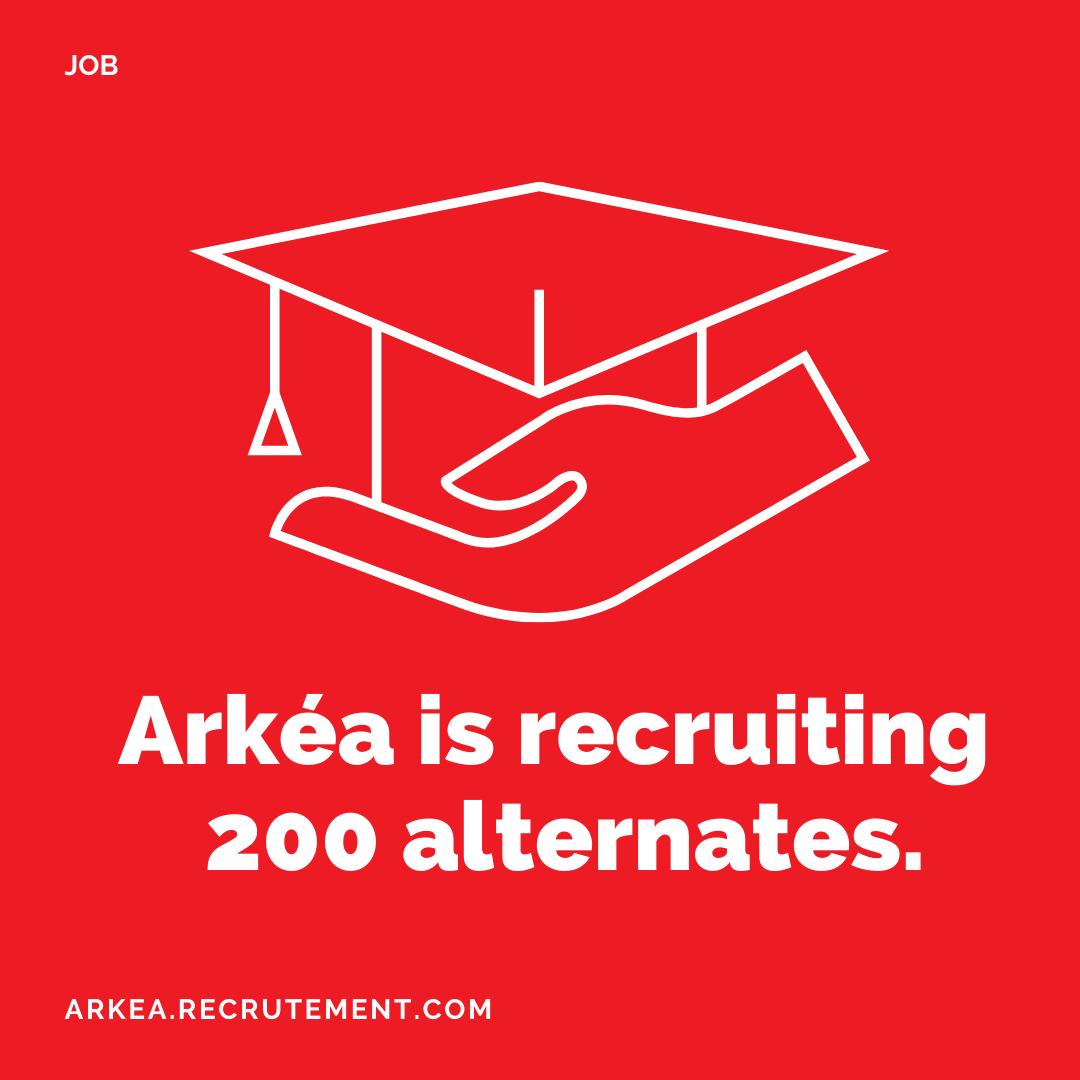 ARKEA RECRUTS