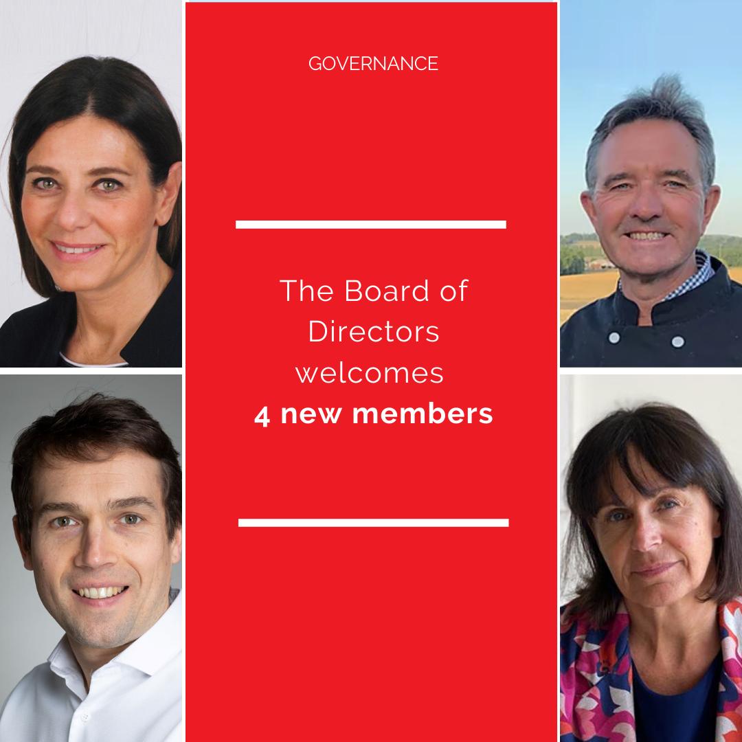 4 new Directors