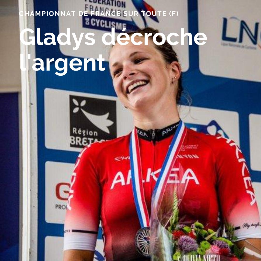 Gladys Verhulst, vice-championne de France 2020