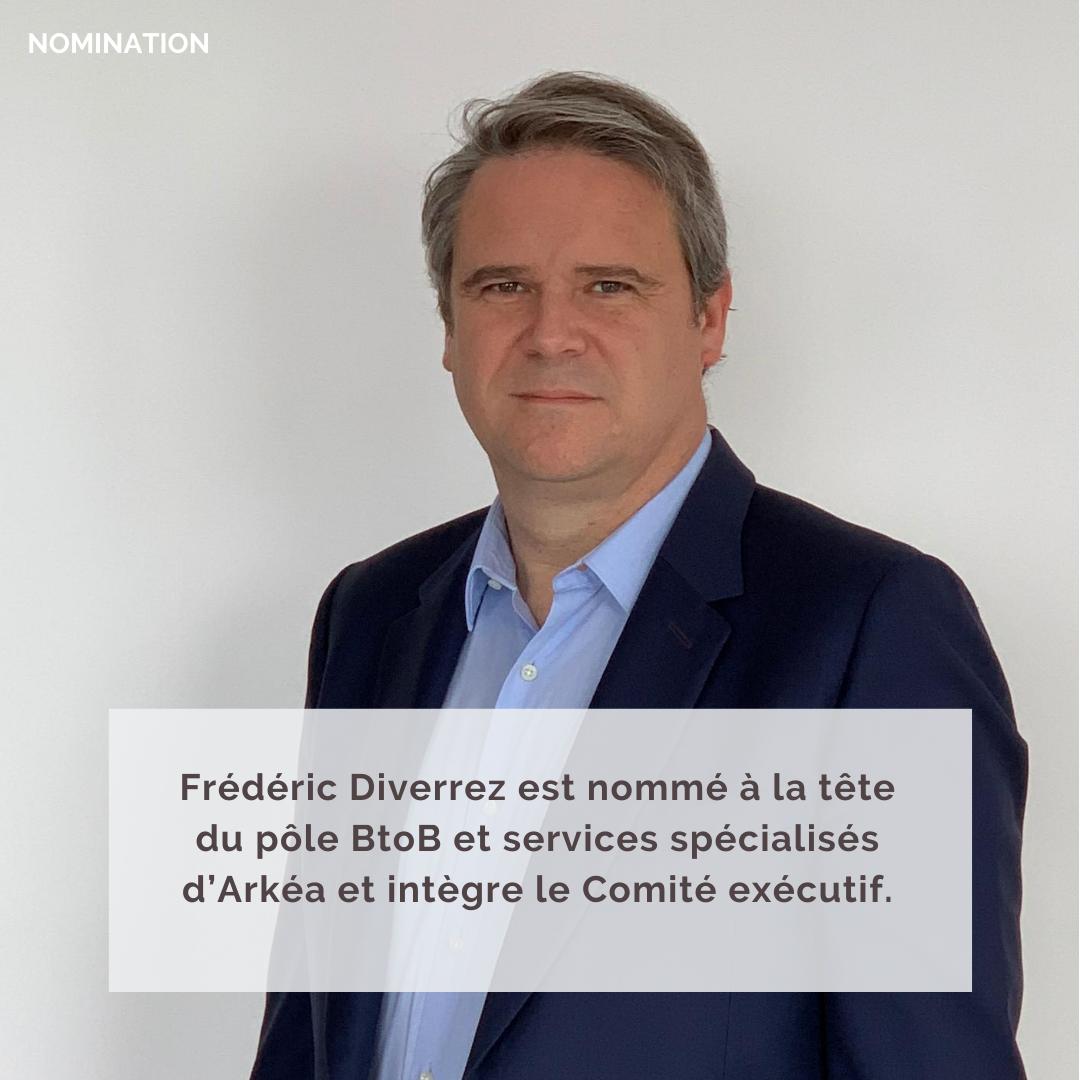 Nomination Frédéric Diverrez