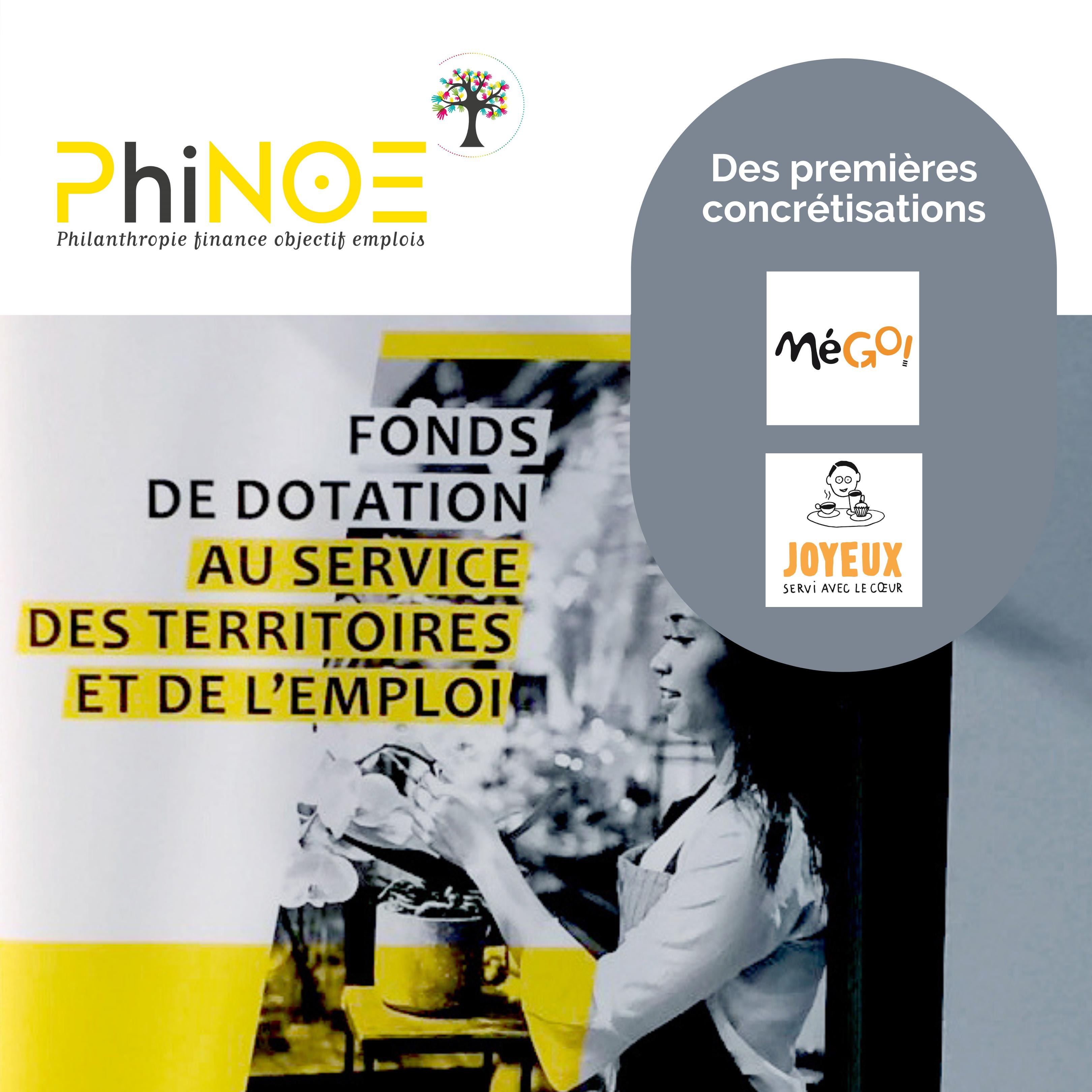 Lancement de PhiNOE