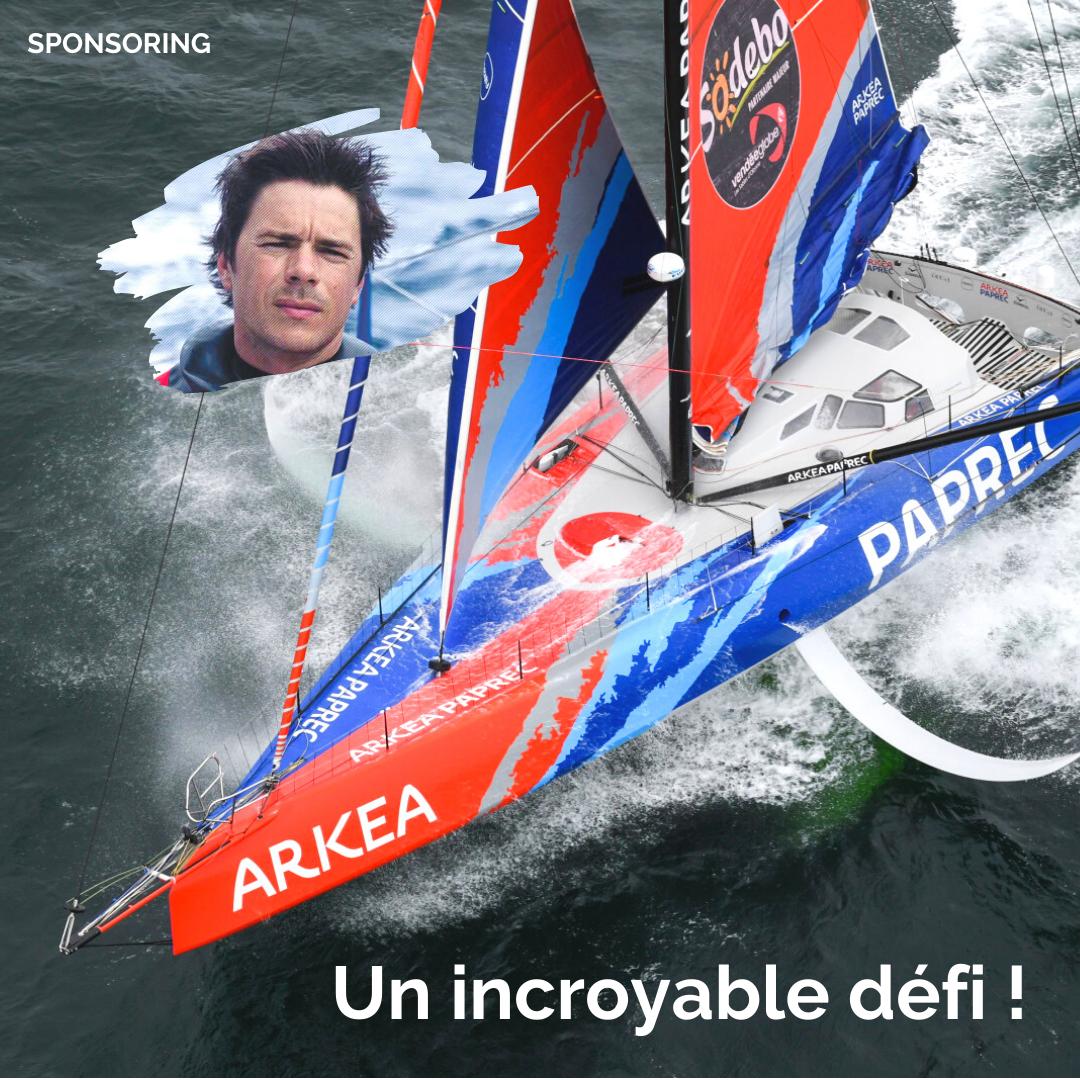 L'incorable défi de Sébastien Simon et de l'équipe Arkéa-Paprec - Vendée Globe 2020