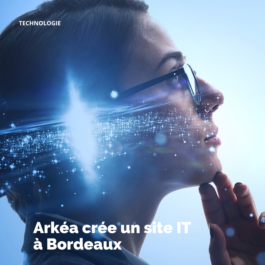 Création d'un site IT à Bordeaux